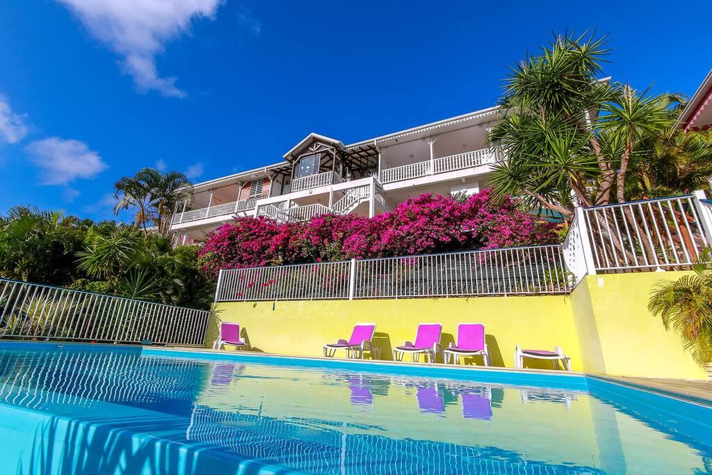 Studio 150m de la plage piscine 2 4 pers for A la piscine translation