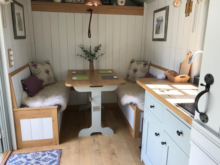 The Shepherd Hut, Ford. Cheltenham
