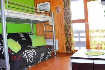 Studio 2-3p Ax/Bonascre, ski, VTT, randonée - Ax-les-Thermes - Apartment