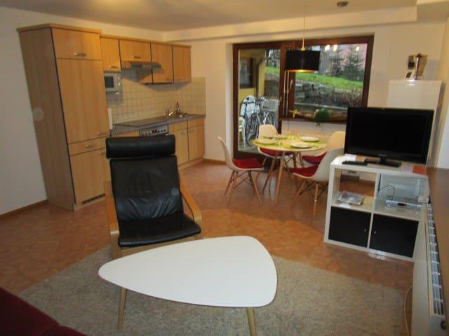 Natur Pur, idylisch gelegene FeWo - Gundelfingen - Apartamento