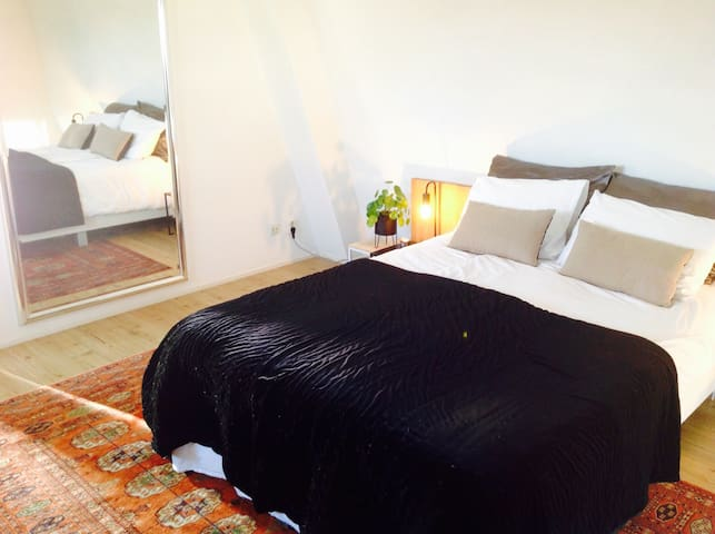 City Center rooftop bedroom