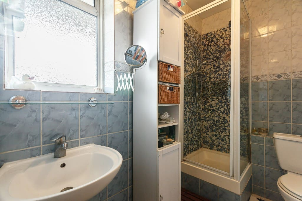 Bathroom with great water pressure