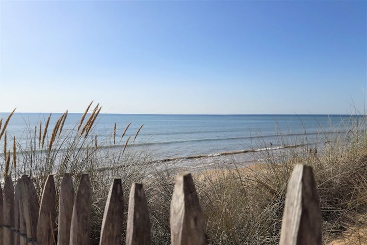 Appartement à 100m de la plage, vue sur la dune