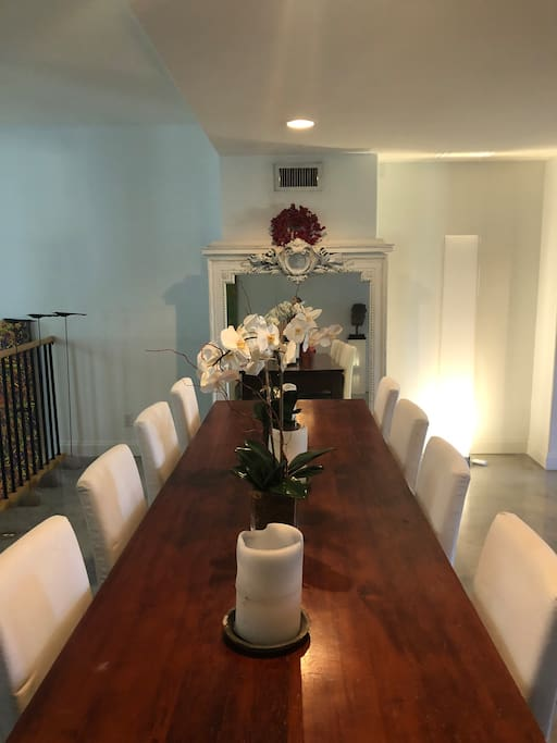 Dining area...Be our guest!