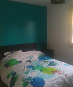Une chambre à umpeau