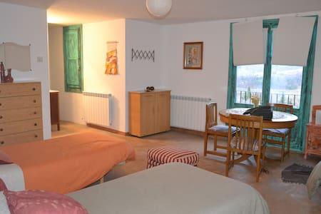 habitación triple con vistas