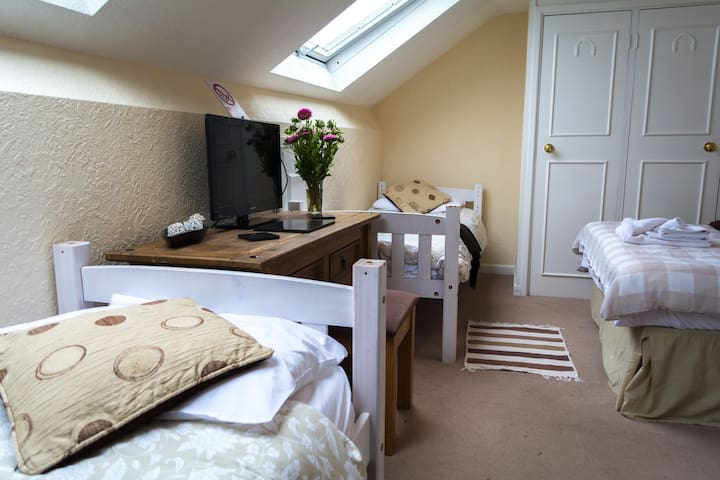 Great Location! Twin/Double ensuite & WiFi/Parking