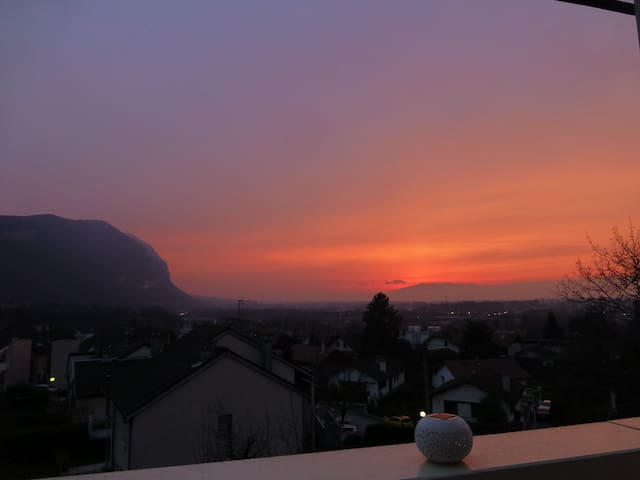 T2 calme aux portes de la Suisse - Annemasse - Apto. en complejo residencial