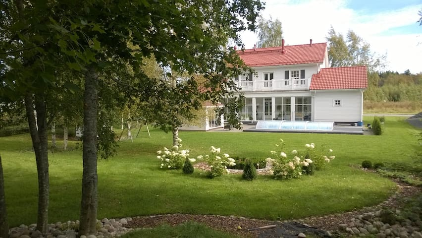 Room with garden view - Feel the Finnish nature