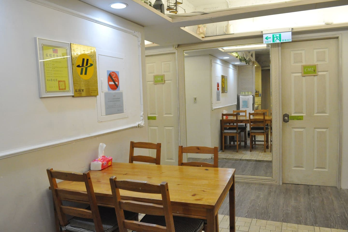 A Small Corner In Ximending Guesthouse