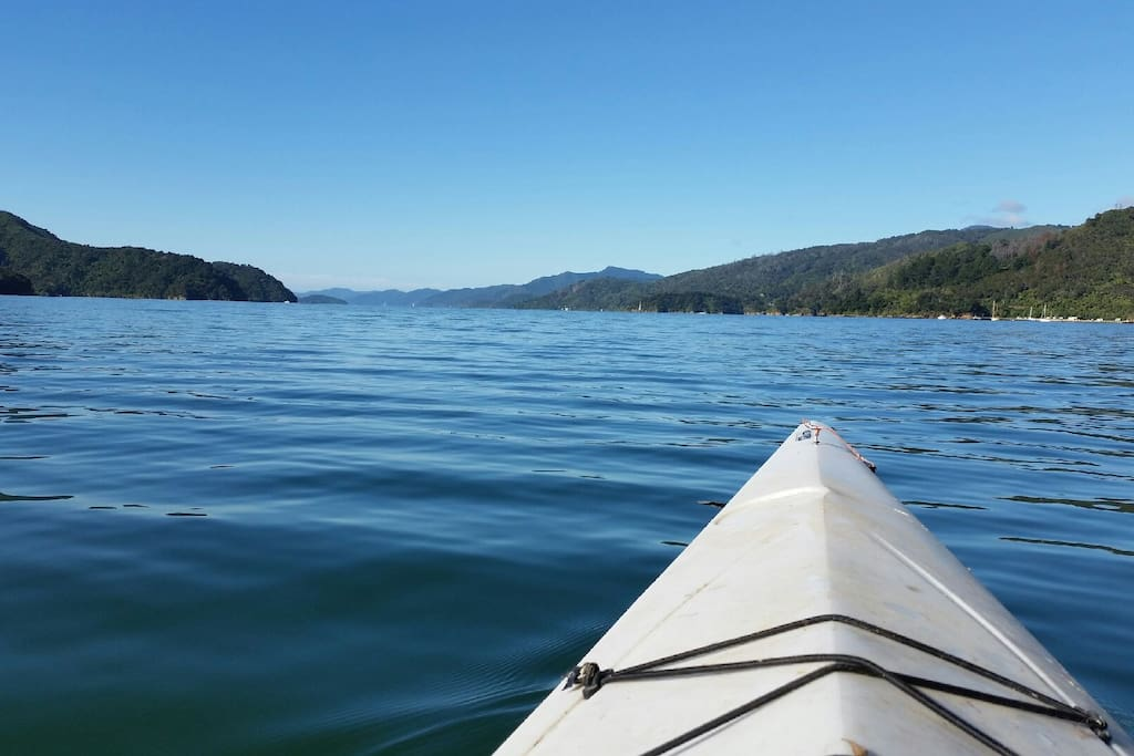 This is why you come here - walk the Queen Charlotte Track, sea kayak, mountain or road bike...RELAX :)