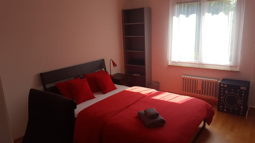 Cosy room, 2 min walk to the train station. - Adliswil - Apartemen