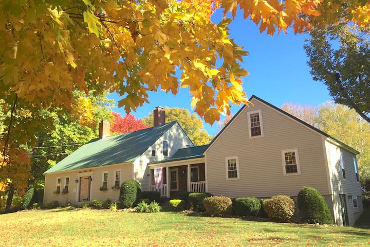 Maple Moon Farm, stay at a historic Maine farm!