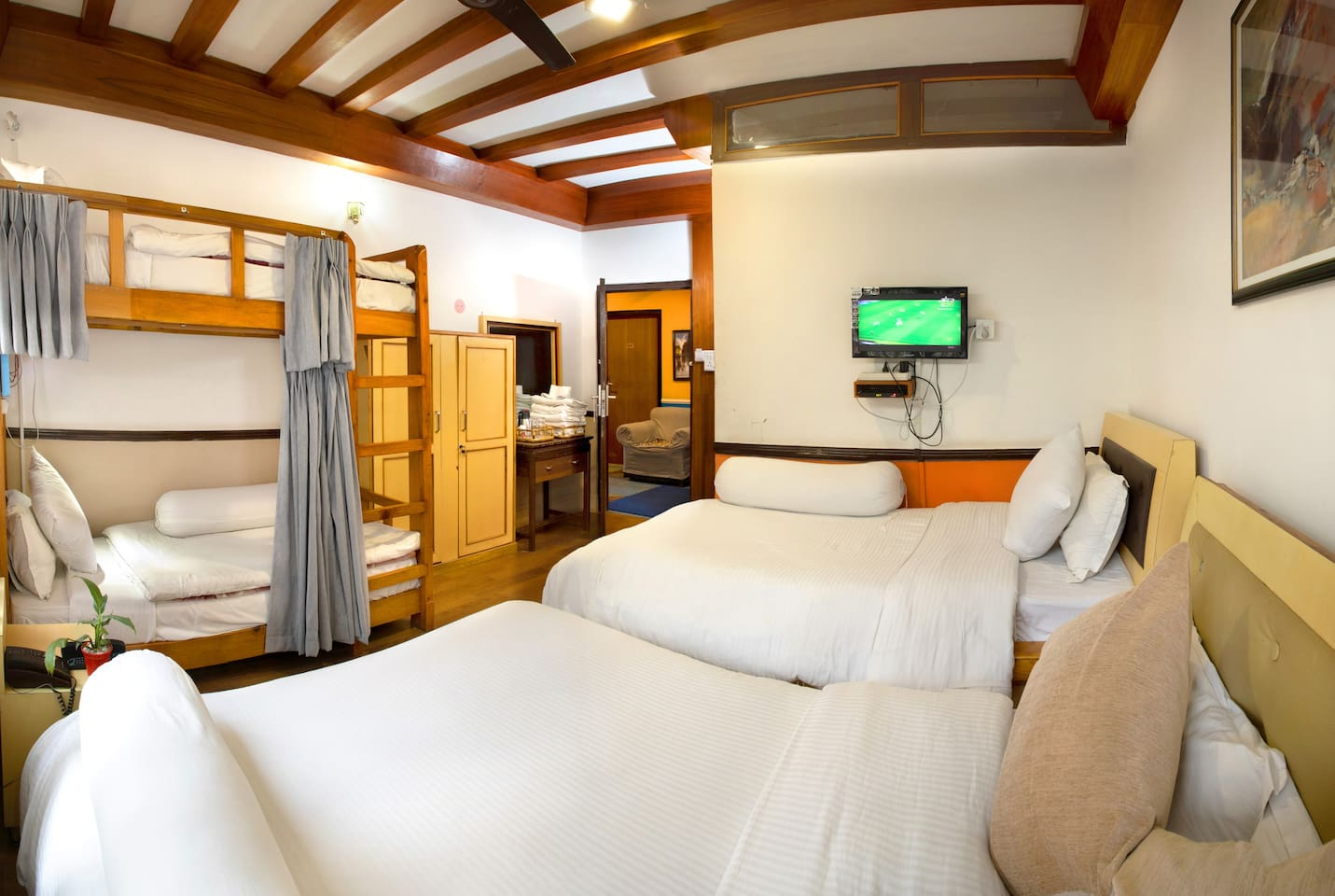 Your bedroom view