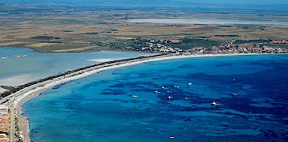 Capo Mannu a 150 metri dal mare - Mandriola