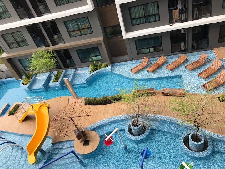 Beachfront room in HuanHin City