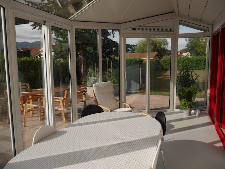 Bel appartement meublé dans villa