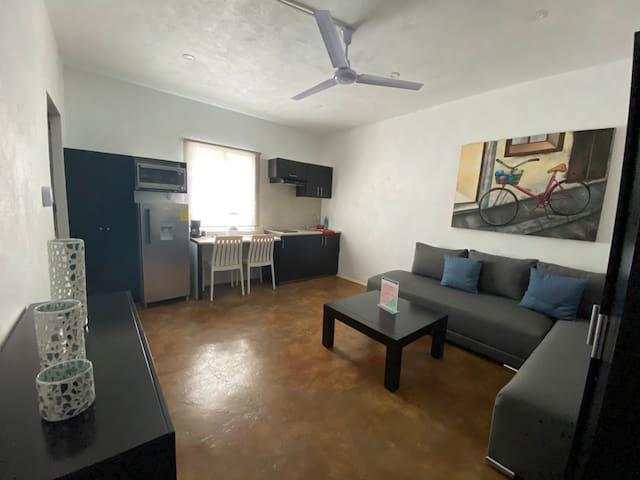 Suites Casa Blanca D2-Facturamos-zona residencial!