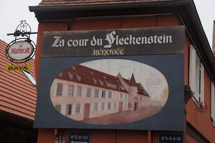 Cour historique classée