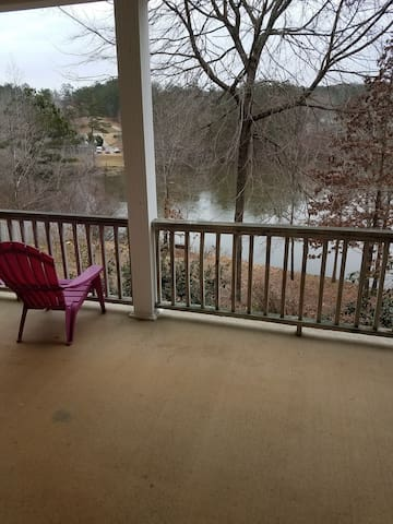 Private Lake view apartment, close to Atlanta.