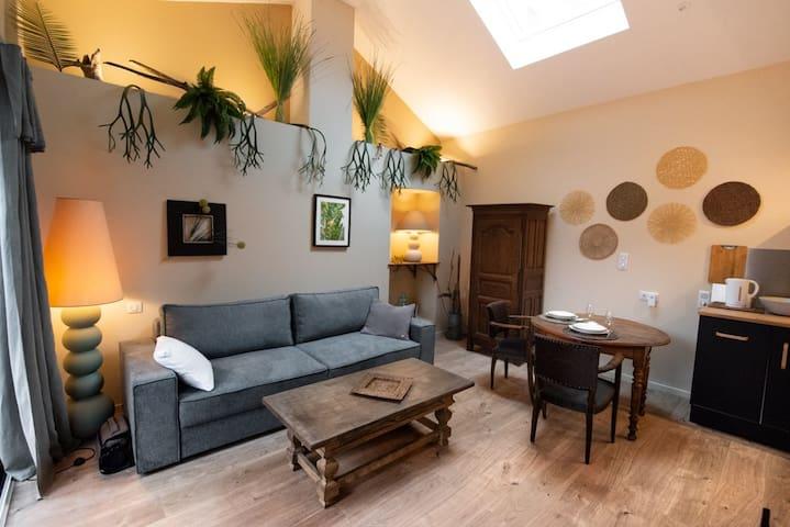 Charmante petite maison de ville avec son patio