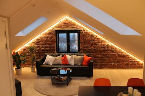 Amazing loft apartment downtown Stavanger