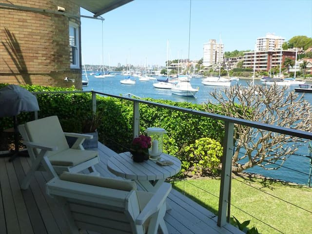 Waterfront With Pool & Courtyard Access NS181 - North Sydney - Apartment