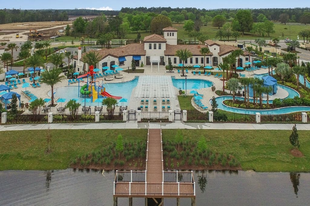 Resort Lazy River and Pool and Fitness Gym-Guests have full access.