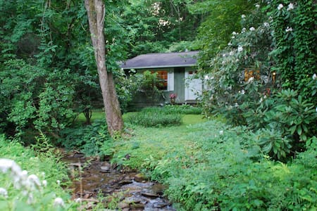 Cabin by a creek. Close to Brevard. - Pisgah Forest - Hus