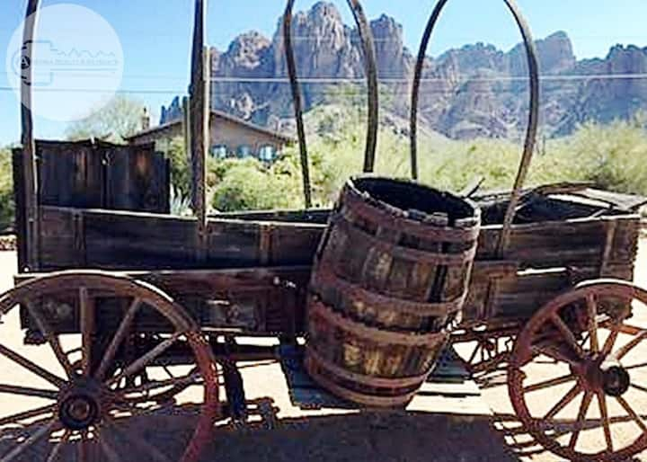 The Goldminers Getaway, a Stones Throw Away From the Superstition Mountains!