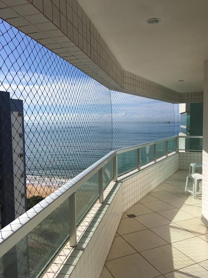 Praia de Itaparica apartament com vista para o mar