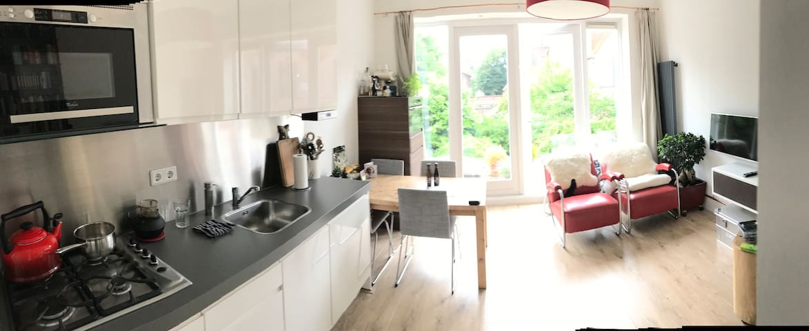 Cosy centrally located apartment with great view!