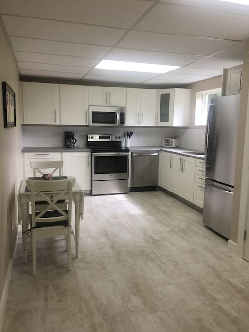 Be the first to try out the new Kitchen.