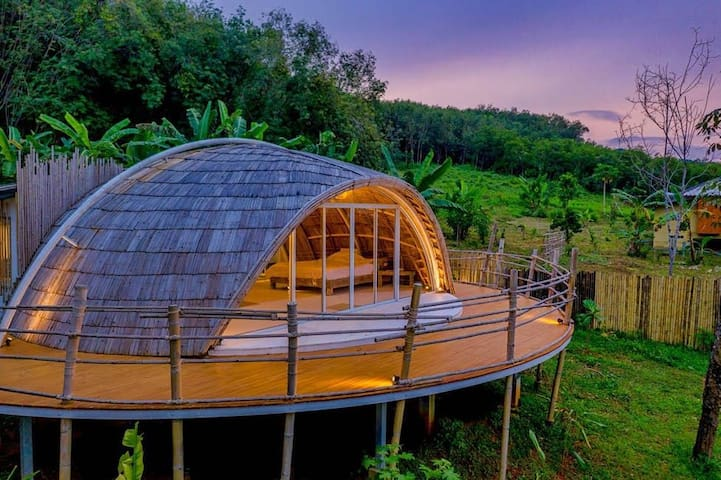 Deluxe Cocoon in Jaiyen Eco Resort, Koh Yao Noi
