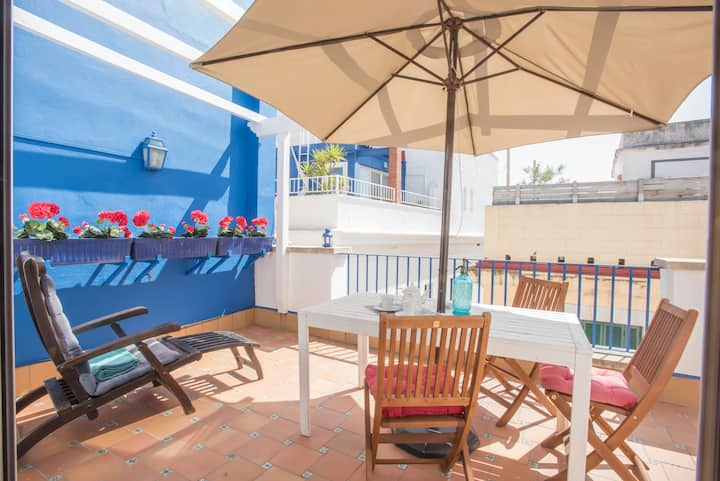 Sitges Now Barco - Sunny terrace Sitges Center