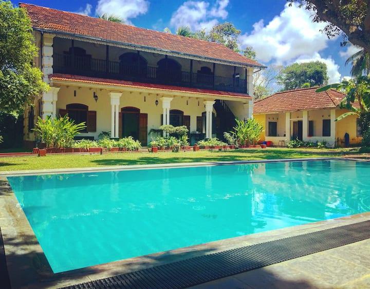 Agwe Villa - 3 bedrooms, private pool near beach
