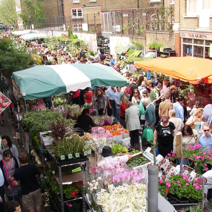 Foto de Columbia Road Flower Market