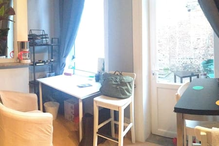 Appartement avec cour à 10 minutes du centre - Lille