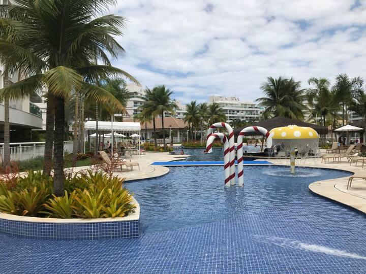 Apartamento em Condominío Resort em Camboinhas