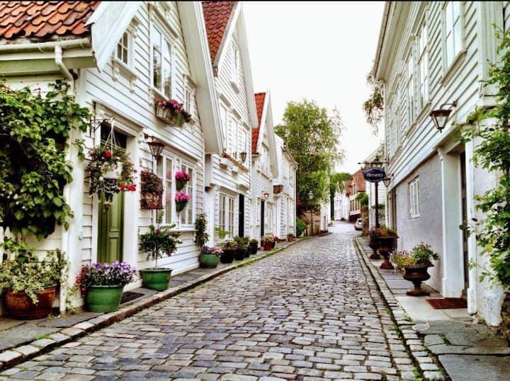 Modern apt. next to Old Stavanger