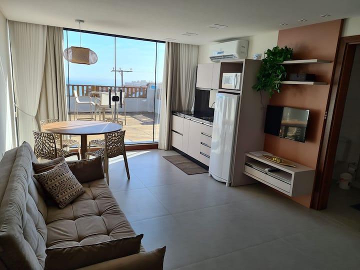 Loft 221 Apart Hotel Farol De Santa Marta-Laguna