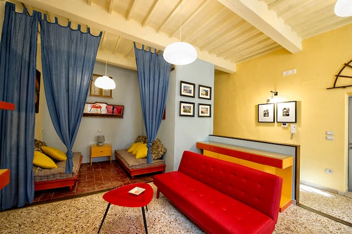Apartment with 2 bedrooms in Foiano della chiara, with wonderful city view and WiFi