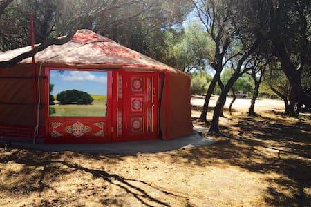 Wakana Lake, yurta. Benalup. Cádiz. - Benalup-Casas Viejas