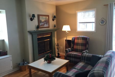 Cozy apartment Mont Tremblant/Mont Blanc ski-in - Saint-Faustin-Lac-Carré - Appartement