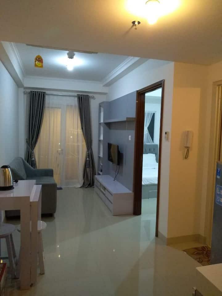 1 BR Apartment WiFi+CableTV+Gym+Sauna