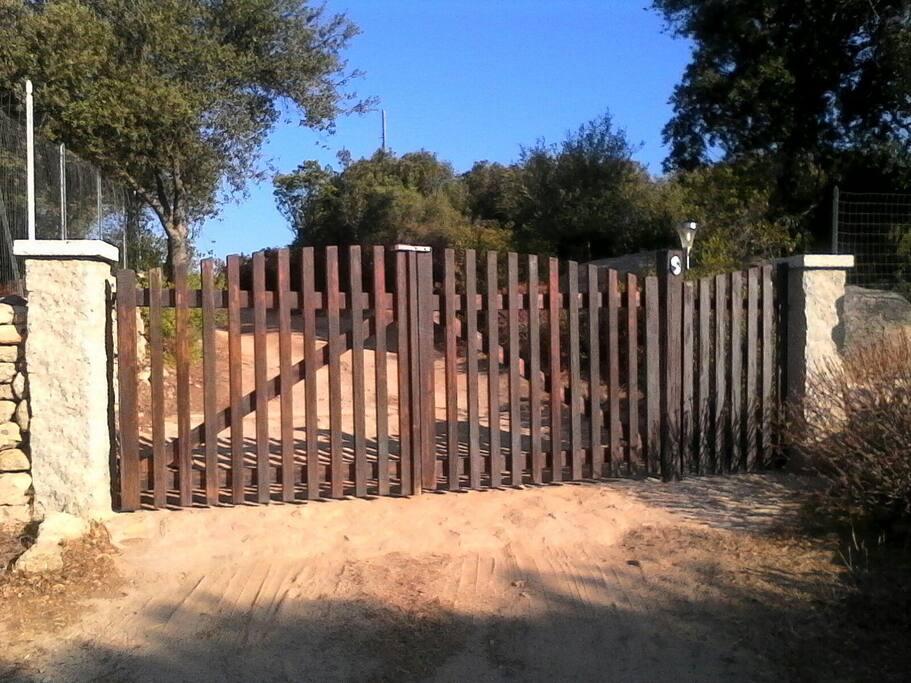 Il cancello: quando lo vedete siete finalmente arrivati