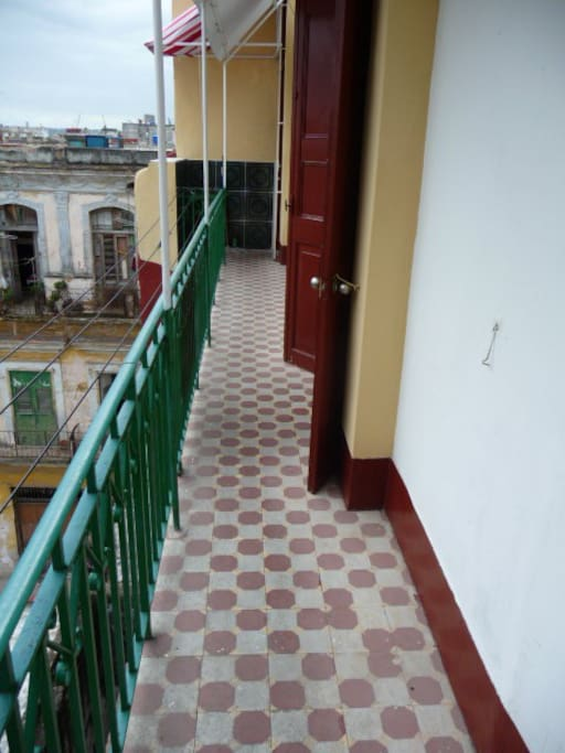 pasillo entrada