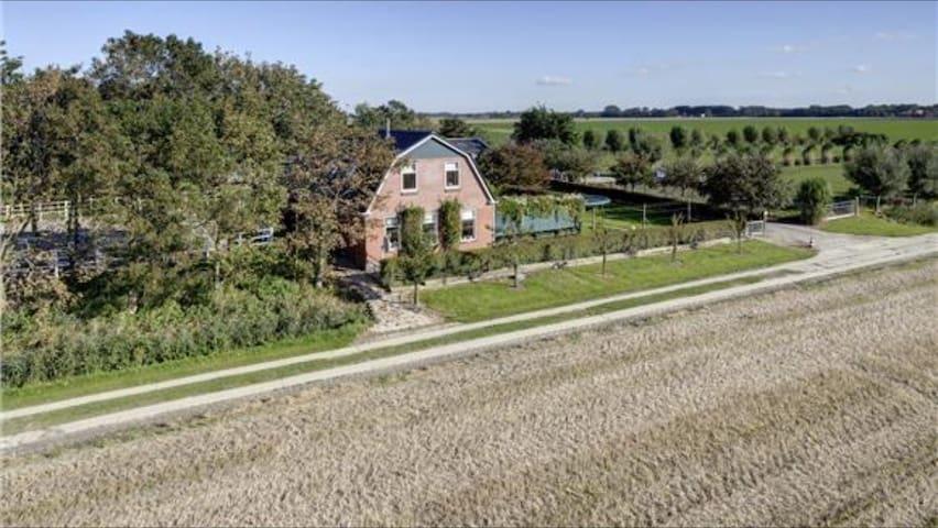 Vakantiewoning Noord Groningen - Usquert - House