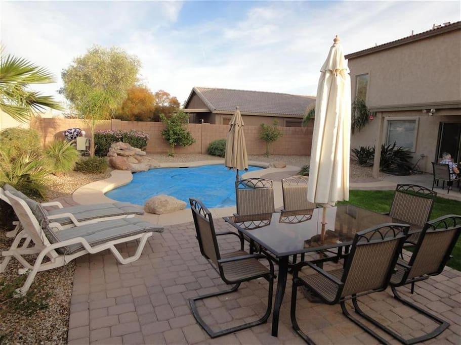 Backyard (Heated Pool)