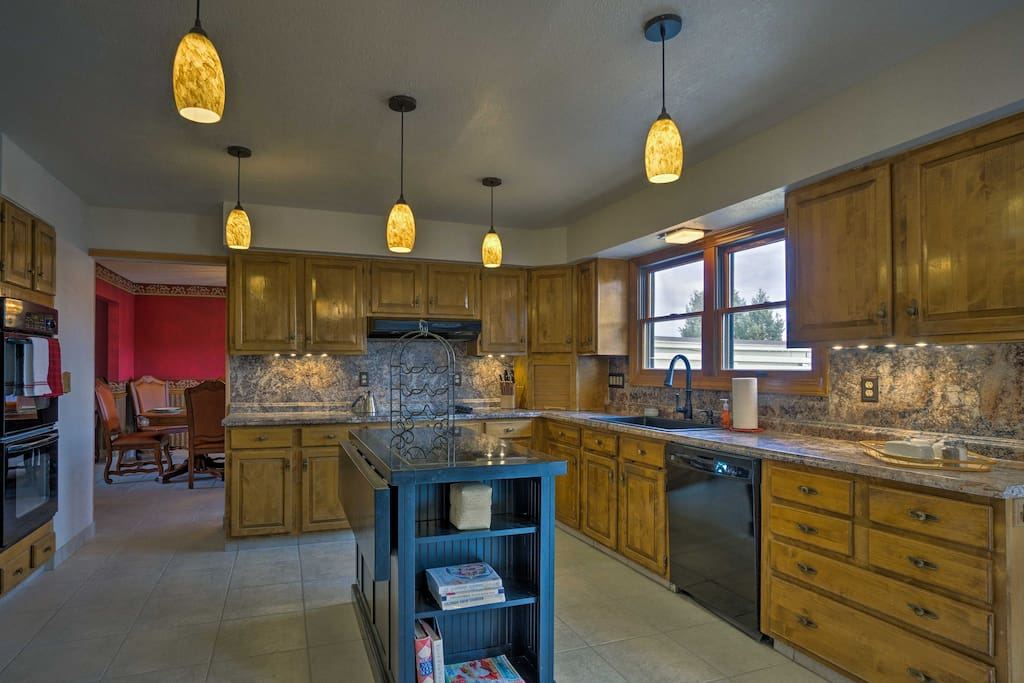 With over 4,000 square feet of living space, this property can host 12 guests